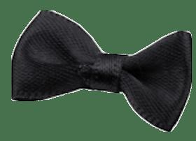 Černá mašlička