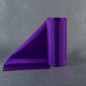 Tmavě fialová taftová šerpa