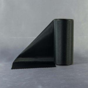 Černá taftová šerpa