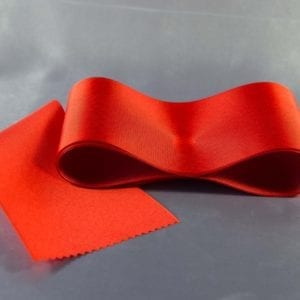 Červená taftová šerpa