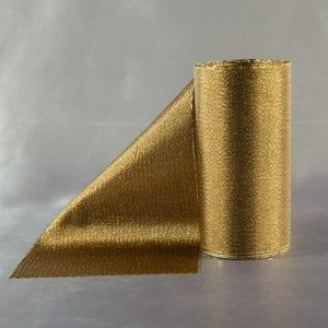 Tmavě zlatá třpytivá šerpa