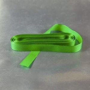 Zelená taftová stužka