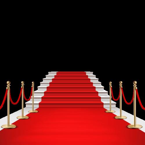 Červený koberec MyProm